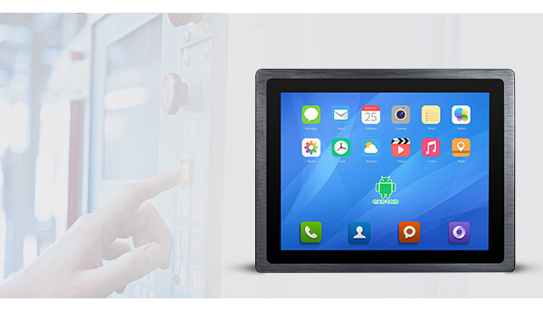 3mm Front Bezel Industrial Android Panel PC