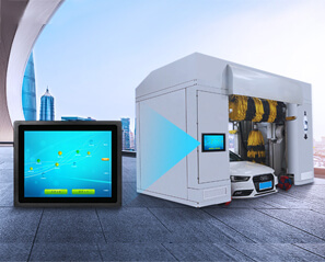 Automatic Car Washing Machine Based On Industrial Panel PC Greatly Improve Car Washing Efficiency