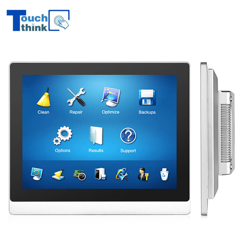 Wall Mount Industrial Display IP65 Waterproof Dustproof 8 Inch