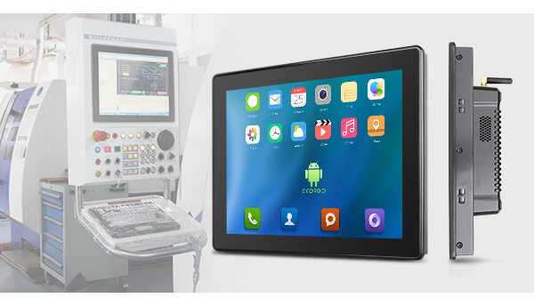 7mm Front Bezel Industrial Android Panel PC