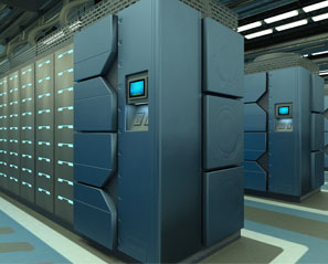 Industrial Touch Displays Offer Unattended Functions For Data Center
