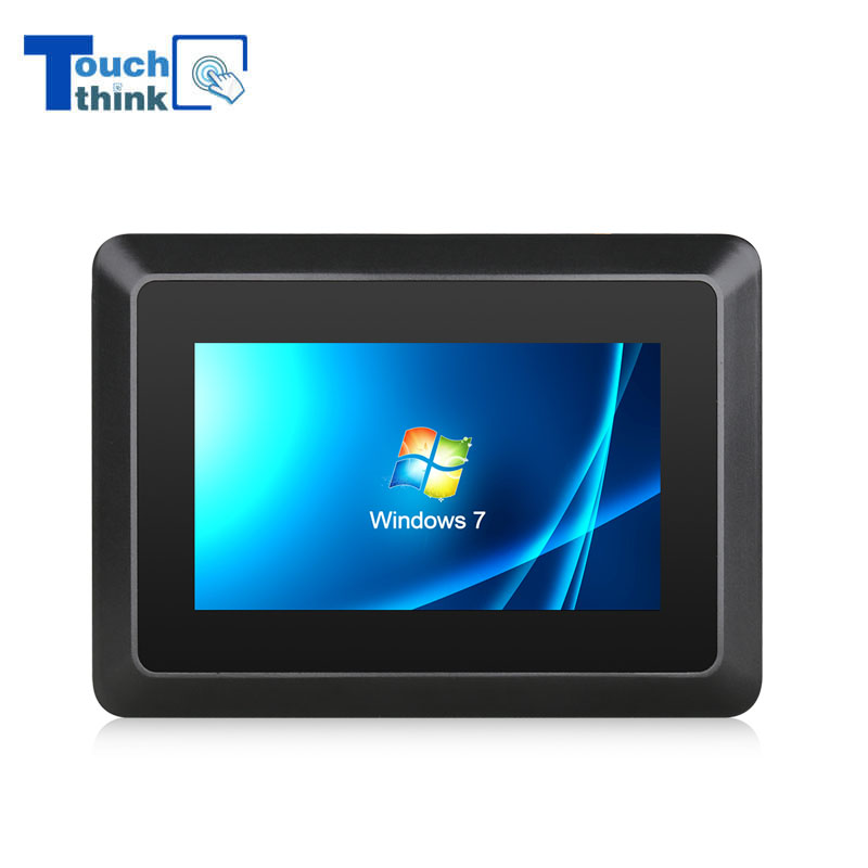 Small Size 7 inch 8 inch Industrial Flat Touch Panel PC Windows System