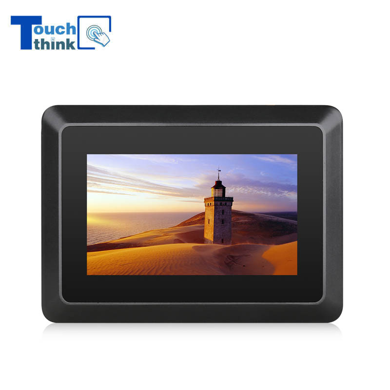 7 Inch Industrial Touch Screen LCD Display Monitor With USB LAN Port
