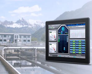 Touch Think Android all-in-one PC Used In Sewage Treatment Solution