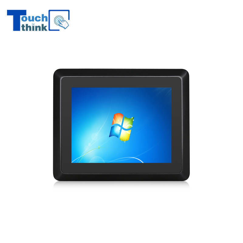 Industrial Capacitive Touch All In One Panel PC Aluminum Alloy 8
